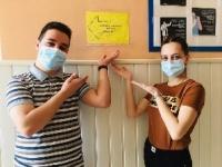 Студенты ЧИ БГУ активно вакцинируются от коронавируса